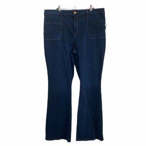 Universal Thread 18 Jeans Flare High Rise Dark